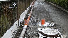 Realizzazione strada privata